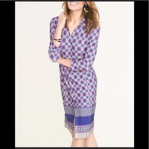 NWT Chico's Button Down Dress 3/4 Sleeve Size 4